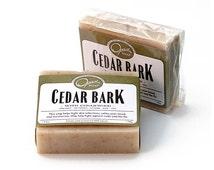 Cabin Cedar Soap, Cedar Chips, Pine Needle, Cedarwood,