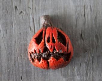 Rotten Pumpkin Magnet - Large