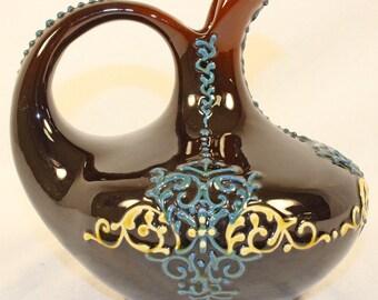 Owens Pottery Utopian Oriental Ewer Shape 812
