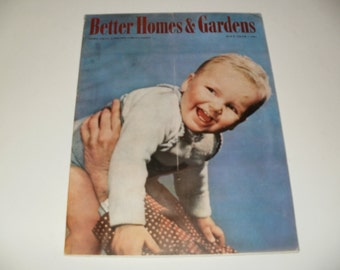 Better Homes and Gardens Magazine, May 1940, Vintage Magazine, Ephemera, Colored Ads, Art, Scrapbooking, Old Ads, Articles, Vintage Recipes
