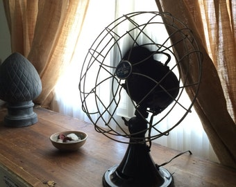 Vintage Emerson Oscillating Fan