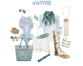 R E S E R V E D for Wendy- Bling Box- What's in your Bling Box? by Gina Louise