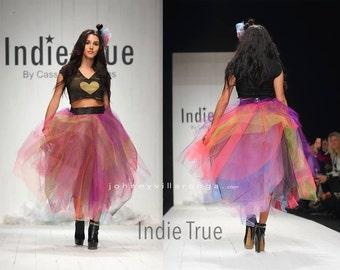 Tulle skirt....Rainbow Tulle Skirt....Rainbow Tutu