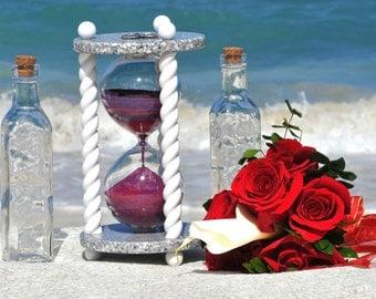 Heirloom Wedding Hourglass - The Constellation Wedding Unity Sand Ceremony Hourglass