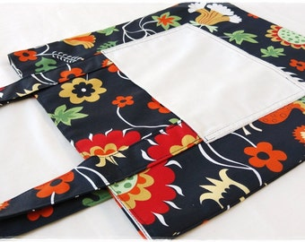 Mac-Pack Canvas Tote Bag - Shopping Bag - Large Tote Bag - Canvas Beach Bag - Handmade Cotton Canvas Tote Bag - IKEA ROSENRIPS