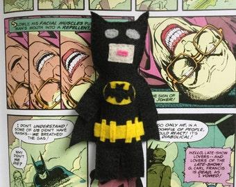 Batman catnip toy
