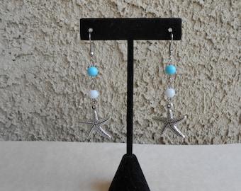 Starfish Beach Earrings