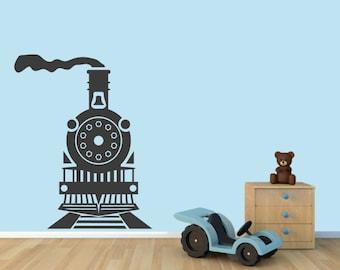 Train - Nursery and Kid's Room Wall Decals