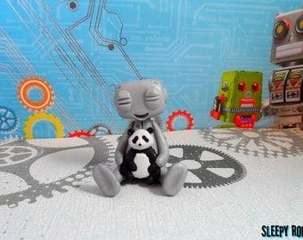 I Luv U Panda Robot