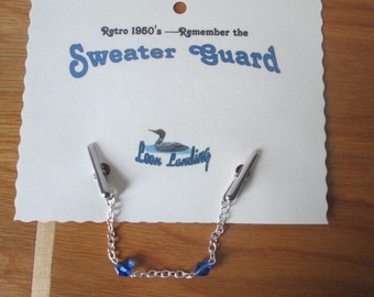 Old-Fashioned Sweater Guard Clips