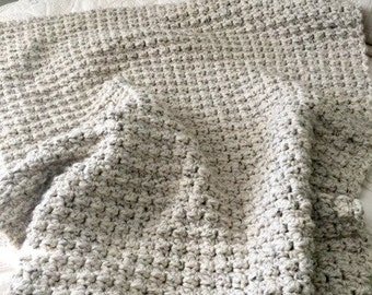 Crochet Afghan Pattern, Cozy Blanket, Crochet Pattern, Blanket Pattern, Easy Crochet Blanket