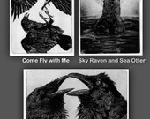 Valentine's Day Sale. Raven Love Stories Three Print Collection