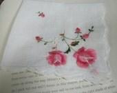 Gift for Bride - Vintage Hankerchief
