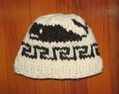 Child's Cowichan Style Whale Toque PDF Pattern