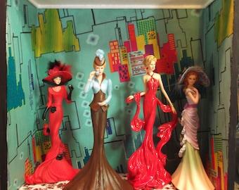 Ladies of Elegance Shadow Box