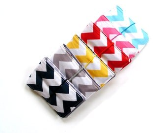 Crayon wrap rolls, set of 6, chevron and dots, kids birthday party favor gifts, coloring activity for children, stocking stuffer