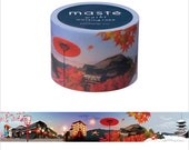 Mark's Japanese Washi Masking Tape - Japan Series / Kyoto Japan  25mm wide for packaging, party deco, crafting