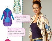 A Learn to Sew Pattern, Loose Fit Unlined Cardigan and Vest Pattern, McCall's Sewing Pattern 7055