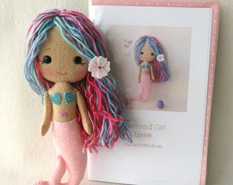 Lorelei - Mermaid Girl Pattern Kit