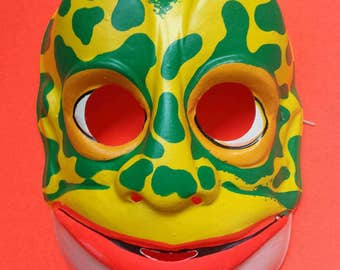 Vintage Lizard Man Mask