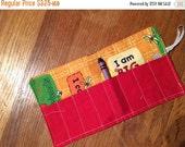 Spring sale sale sale Crayon Roll up Sesame Street I am big