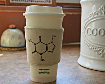 Caffeine cup cozy