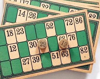Victorian Era 1895 Game of Lotto By McLoughlin Bros.