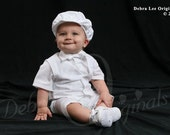 Boys Baptism outfit, Christening outfit,
