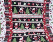 Jolly Christmas Lap Quilt