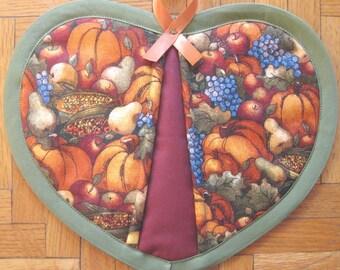 Autumn Harvest Potholder - SINGLE ONLY