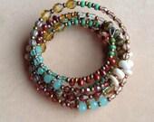 Beachcombers memory wire bracelet
