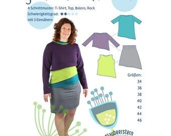 Kiefernzapfen Sewing Pattern for Women by Blaubeerstern