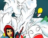Flag Force issue 1 digital comic book superhero comedy by boo rudetoons