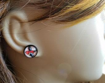 Tattoo Style Swallow Earrings