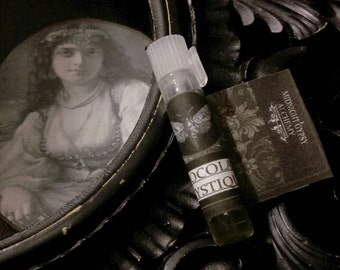 Chocolate Mystique Gypsy Apothecary Sample Natural Perfume Oil Vial  Cocoa, Chocolate, Coffee, Cardamom, Vanilla ,Sandalwood,