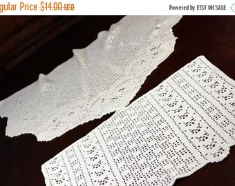 Vintage Linens Crochet Doilies And Antique By Vintagekeepsakes