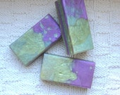 Blue Violet and Silver Yuzu - Japanese Grapefruit Glycerin Soap