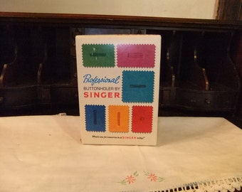 Vintage Singer Botton Holer
