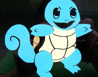 Pokemon Squirtle car decal