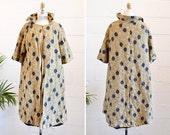 Vintage 1960s BROCADE swing coat