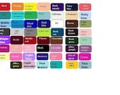 Color   swatch  for infinity dress