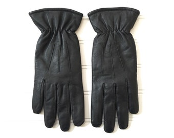 Womens Winter Gloves - Womens Gloves Leather - Leather Gloves for Women - Size Medium - Womans Gloves Women - Driving Gloves Gardening