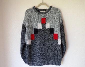 CHUNKY knit sweater medium