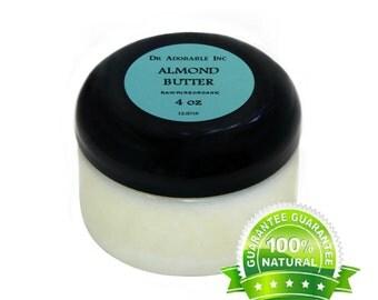 4 OZ Pure Sweet Almond Butter Organic