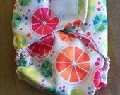 Ready to Ship - Diaper Cover - Velcro - Citrus