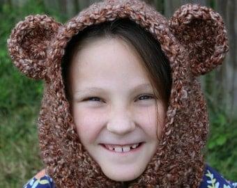 Bear Hood Hoodie
