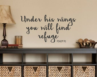 proverbs 24:3-4wisdom a house is built-vinyl wall decal