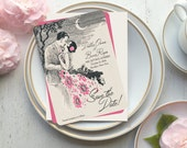 Save the Date, Save the Date Cards, Art Deco Wedding, Save the Date Postcard, Gatsby Wedding, Wedding Invitations, Spring Wed, Stolen Kiss