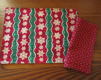 Child Size Placemats and Napkins, Holiday