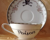 Poison Tea Cup and Saucer Set